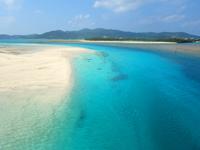 久米奥武島の奥武の岬の写真