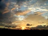 奥武島からの朝日