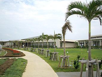 久米奥武島のパークゴルフ