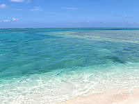 はての浜のナカノ浜西 - 船着き場でもあるのでやや深い