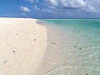 はての浜のナカノ浜南西 - まさにパラダイスのような光景