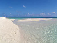 はての浜のナカノ浜南の砂浜の写真