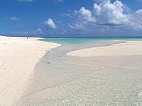 ナカノ浜南の砂浜