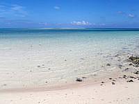 はての浜の沖のハテノ浜 - ナカノ浜からはちょっと遠いかな?