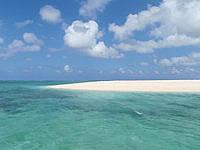 はての浜のはての浜へ行く途中の海 - メーヌ浜とナカノ浜の間を通過