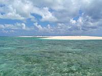 はての浜のはての浜へ行く途中の海 - 船着き場へと向かいます