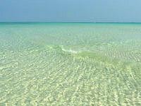 畳石沖の浅瀬