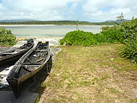 オーハ島のオーハの船着き場