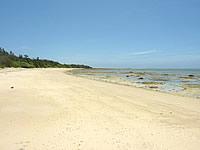 オーハのビーチ