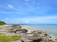 波照間島のブドゥマリ浜/大泊浜 - 波照間港は以外と近い!
