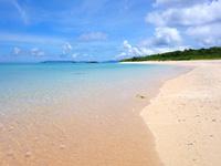 波照間島のペー浜/南浜 - とにかく砂が綺麗