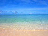 波照間島のペー浜/南浜 - かなり遠浅だけど遊泳禁止