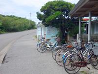波照間島の西浜荘レンタルサイクル
