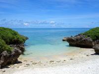波照間島の毛ビーチ/珊瑚の殻ビーチ/サンゴの浜 - まさに先着1組様限定ビーチ