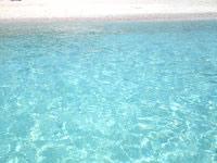 ハテルマブルー/ニシ浜の海の色