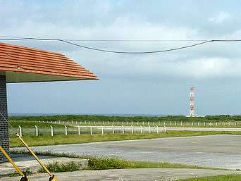 波照間島の地球環境モニタリングステーション波照間