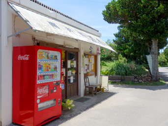 波照間島の南共同売店