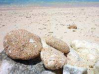波照間島のペムチ浜/ベムチ浜 - ここにしかない珍しい石がある!