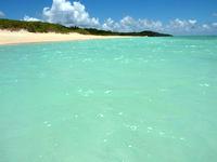 波照間島のペー浜の海の色 - 甘そう・・・でもしょっぱいw