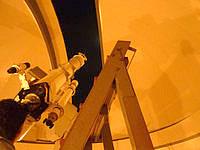 波照間島の星空観測タワー - 天体望遠鏡です