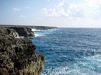 波照間島の高那崎の写真