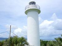 鳩間島の鳩間島灯台