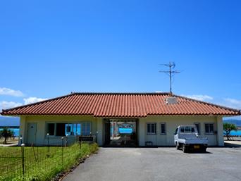 鳩間島のいとま浜ターミナル/鳩間港旅客ターミナル