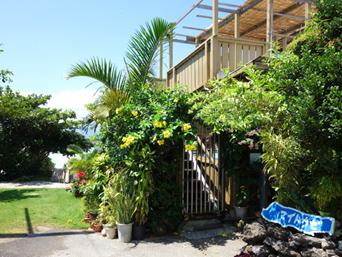 鳩間島のシーサイドマイトウゼ「基本はペンションの食堂部門」