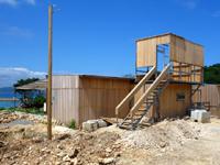 鳩間島のぽっぽ村/青鳩商店/おみやげUnion - 建築士から見てこの2階は超危険