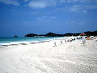 北部のオクマビーチ - ホテルのリゾートビーチ的感覚