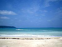 北部のオクマビーチ - 海の色はそこそこキレイ