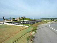 北部の崎本部緑地/本部港の写真