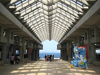 美ら海水族館のアトリウム