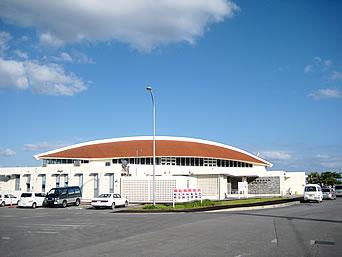 北部の本部港/フェリーターミナル