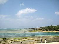 北部の備瀬崎/備瀬埼 - 西表島の星砂の浜に近いイメージ