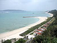 今帰仁村 村民の浜/人工ビーチ