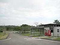 北部の漢那ダム湖畔公園