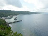 沖縄本島 北部の茅打ちバンタ/園地の写真