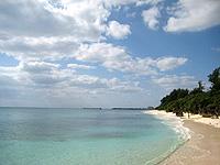 伊江島の伊江ビーチ西