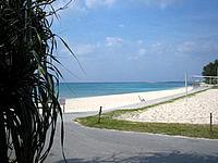 伊江島の伊江ビーチ東