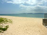 伊江島の伊江ビーチ北