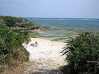 伊江島「東側の海」