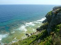伊江島の湧出展望台 - リリーフィールド側の景色