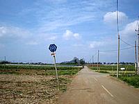 伊江島の東から城山