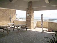 伊江島の喫茶ゆり/カフェゆり - 2階にあるので景色はなかなか良いかも?
