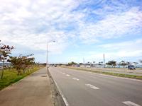 海中道路の海中道路/ロードパーク/絶景歩道橋 - 歩道もあってジョギングの名所でもあります