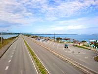 海中道路の海中道路/ロードパーク/絶景歩道橋 - 道の駅的なロードパークもあります