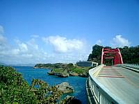 宮城島の伊計大橋 - 小さいながらもキレイな橋です