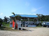 マリンリゾート前のビーチ(有料)