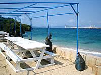 宮城島のトンナハビーチ - 観光化されています